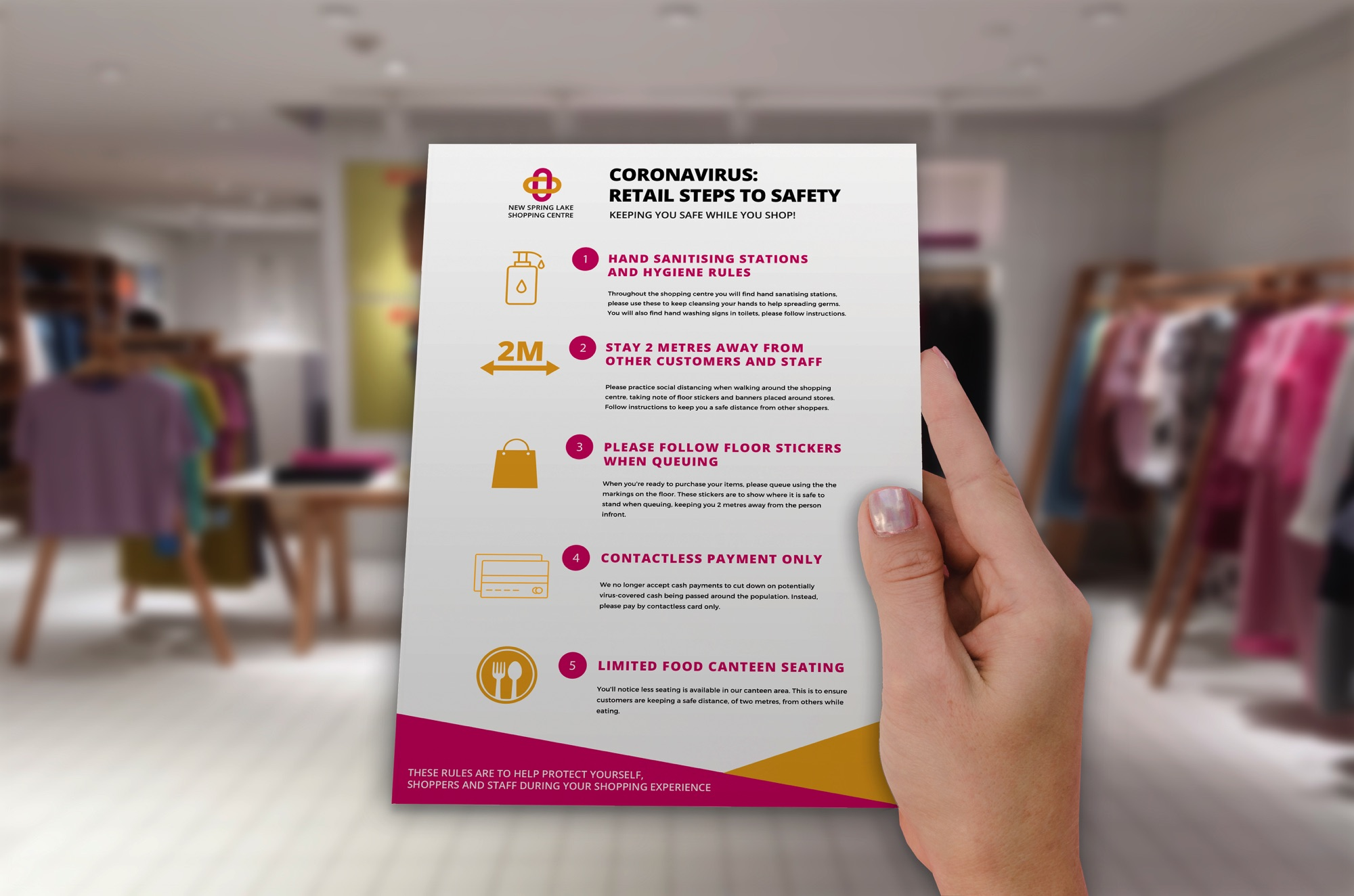 Tent Cards Retail