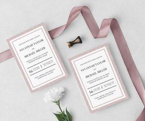 Wedding Stationery Invite