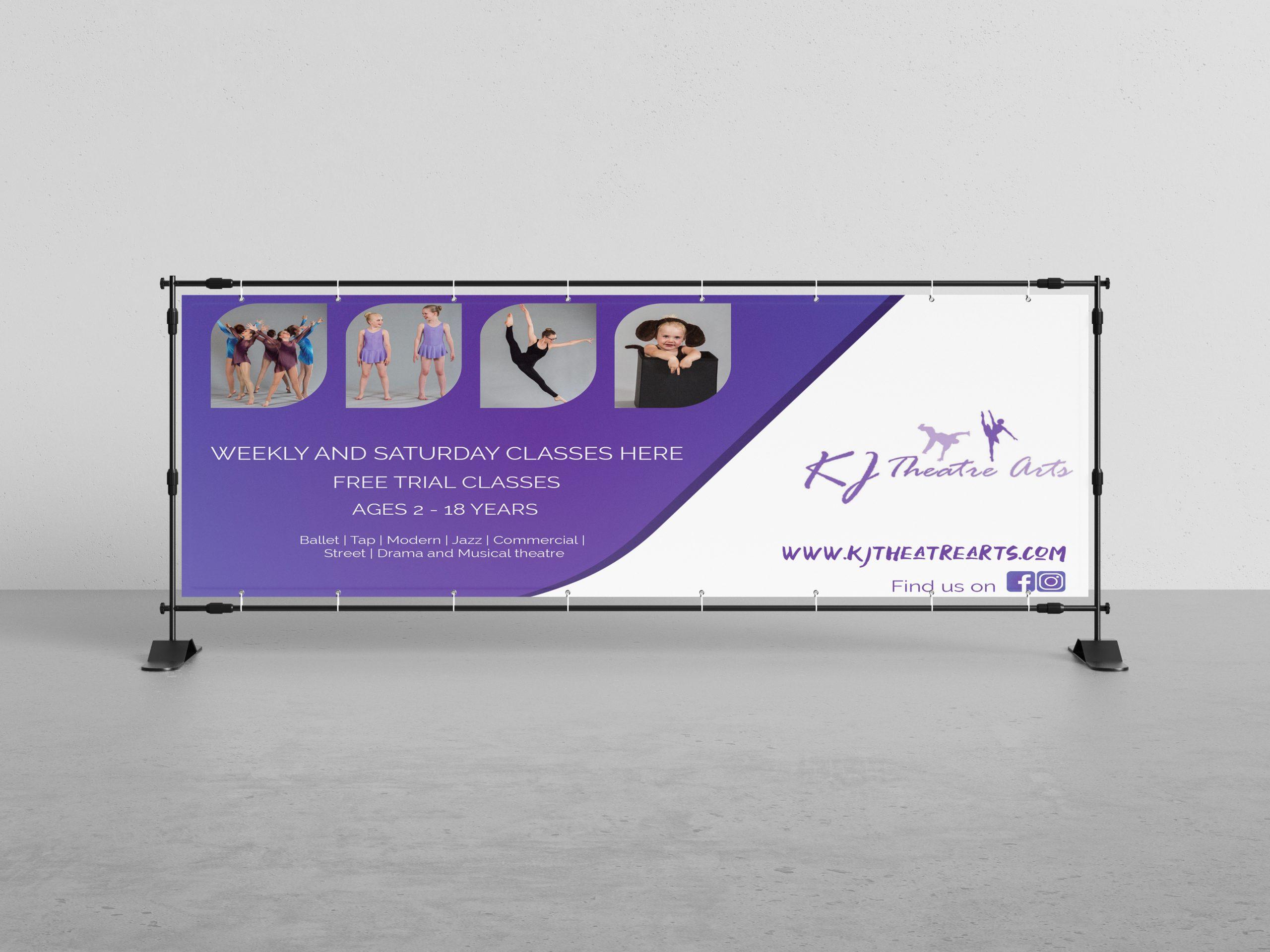 kj banner design